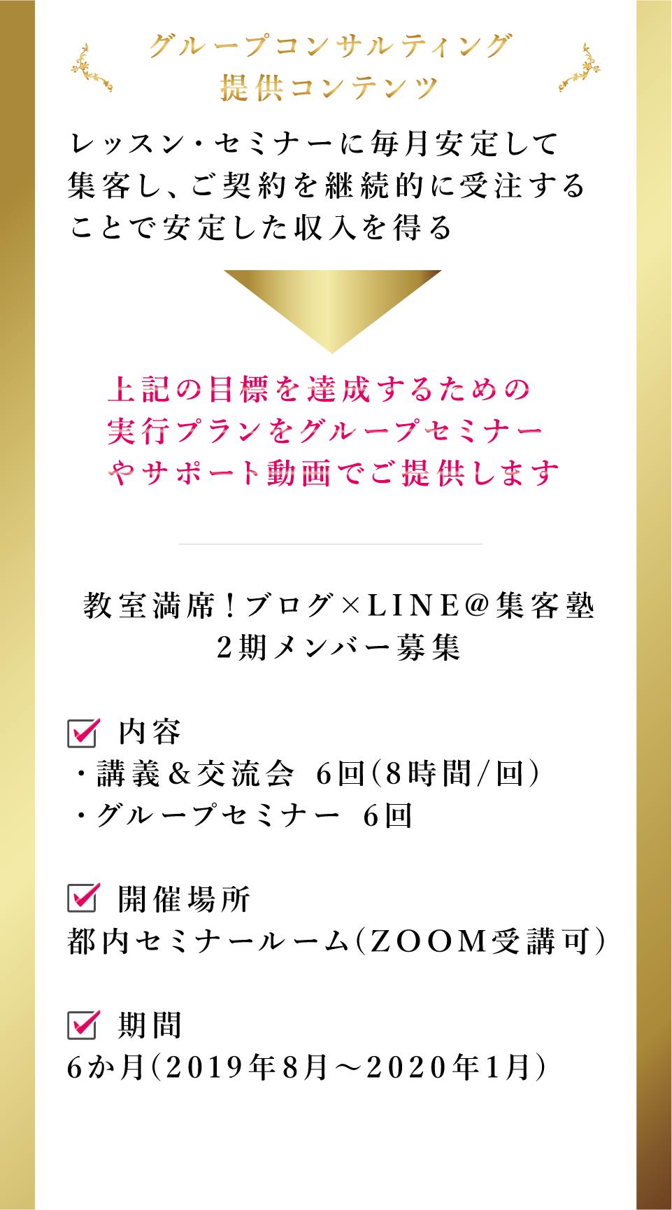 グループコンサルティング,LINE@,ブログ